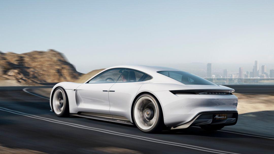 Mission E, Concept car, 2015, Porsche AG