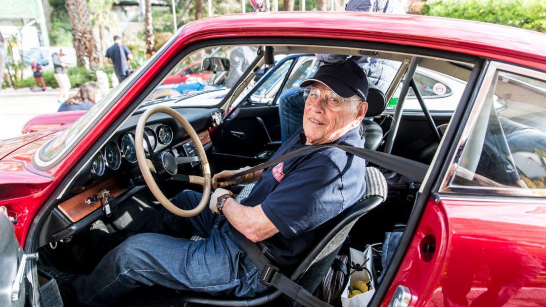Herbert Linge, Col de Turini, 2018, Porsche AG