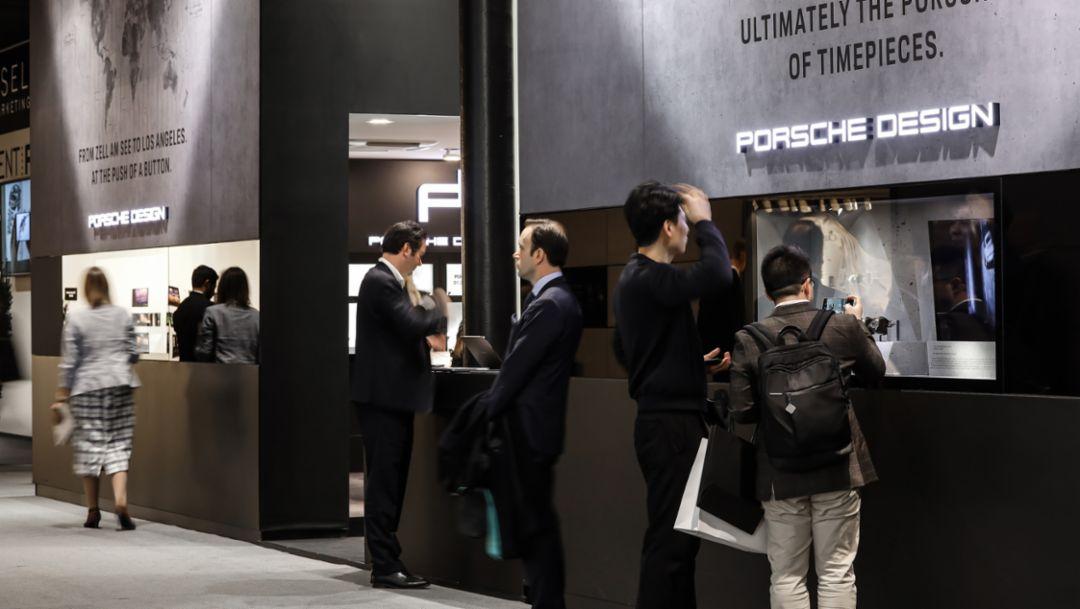 Trade fair Baselworld, 2019, Porsche AG