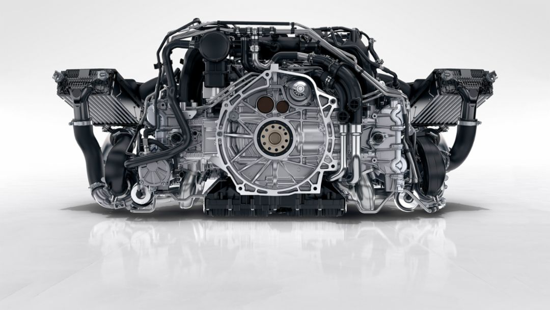 A powerfull heart: Porsches' flat engine tradition