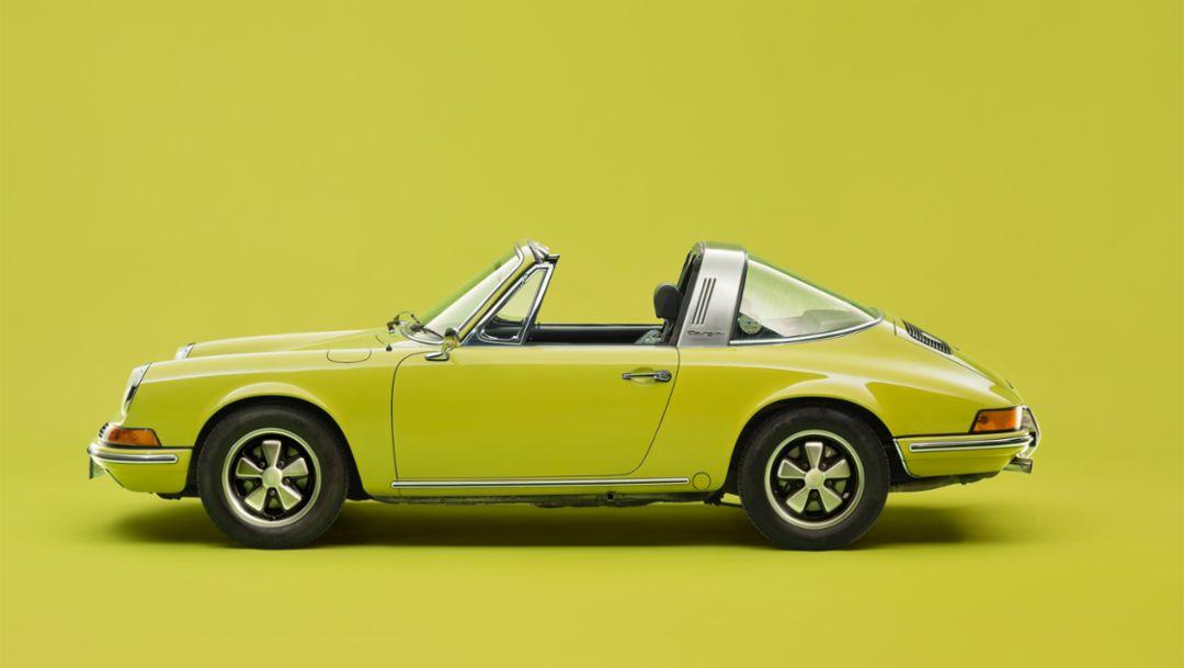 Porsche 911 Targa, Ur-Elfer (1967–1973), Porsche AG