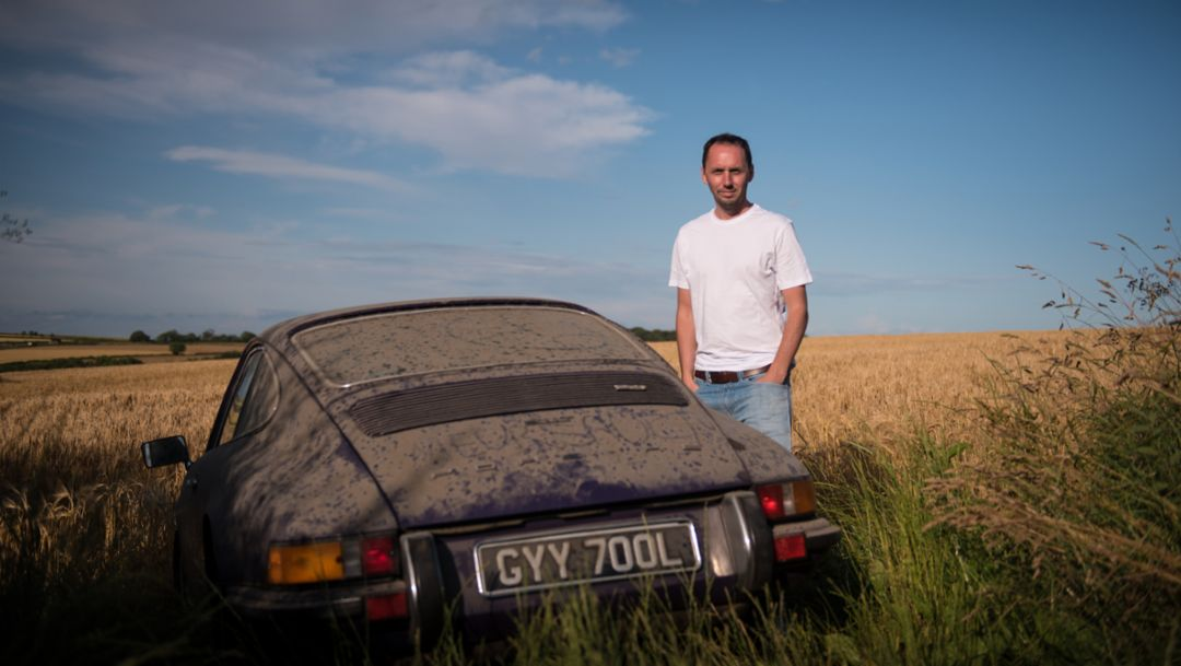 The 911 T that slept in a car park for 10 years