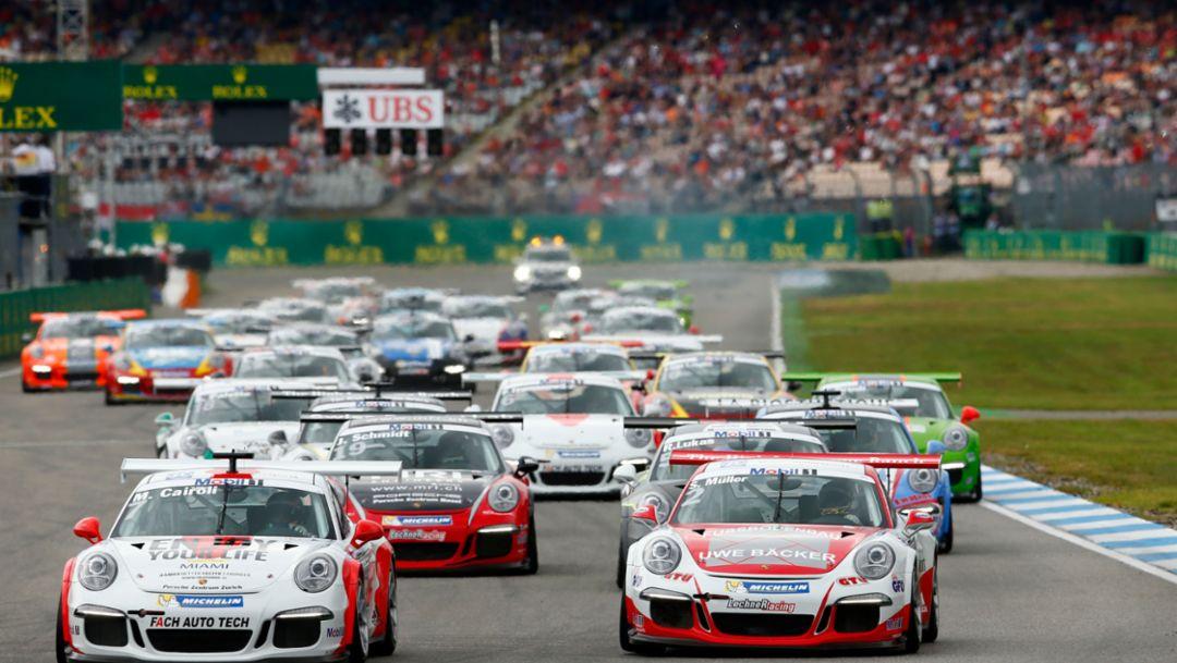 911 GT3 Cup, Porsche Mobil 1 Supercup, Hockenheim, 2016, Porsche AG