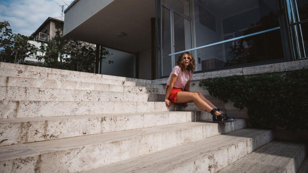 Masha Sedgwick, Modebloggerin, 2018, Porsche AG