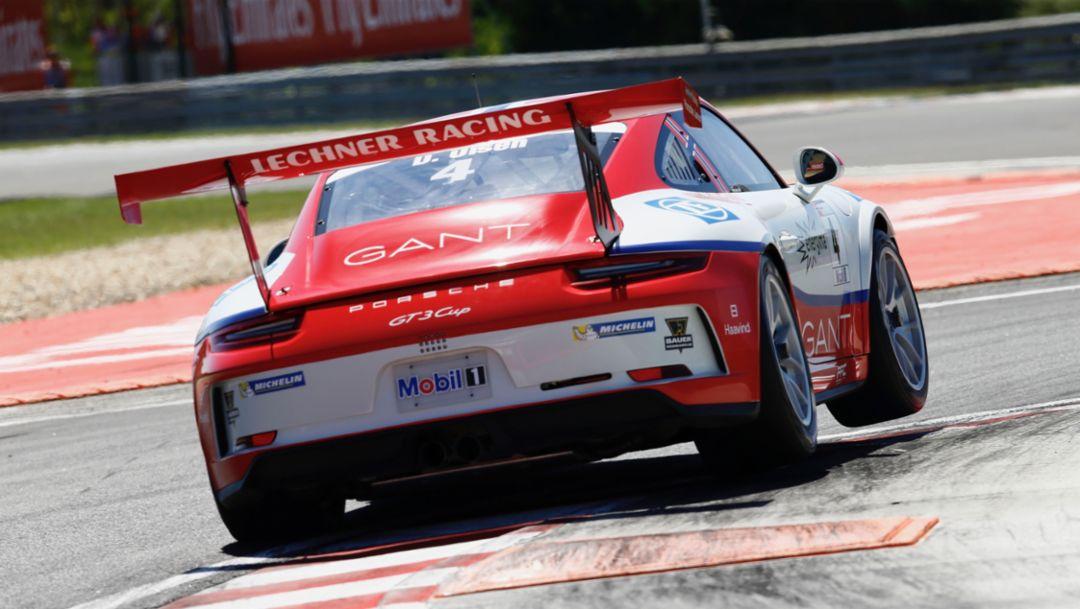 911 GT3 Cup, Porsche Mobil 1 Supercup, Hungaroring, Budapest, Ungarn, 2017, Porsche AG