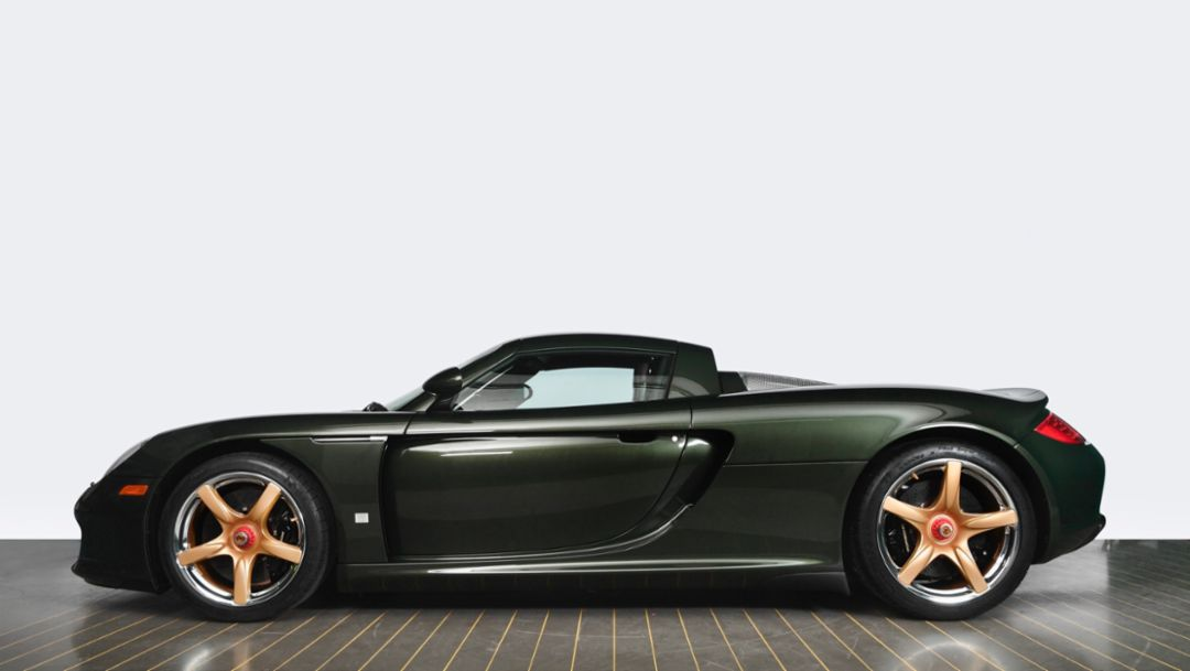 "Sports supercar Carrera GT ""recommissioned"""