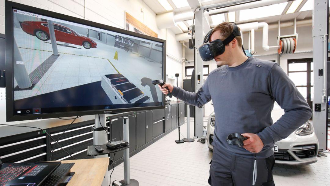 """Программа для работы в среде виртуальной реальности """"Алиса"""", 2018, Porsche AG"""