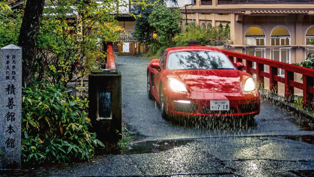 718 Cayman, Melody Roads, Japan, 2018, Porsche AG