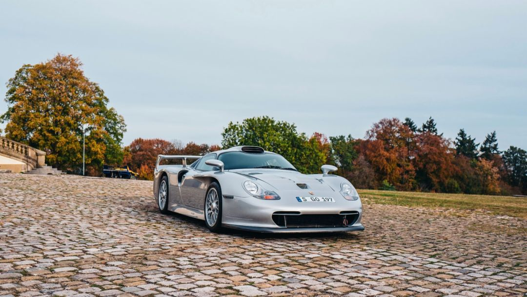 Porsche GT1, Schloss Solitude, Stuttgart, 2018, Porsche AG