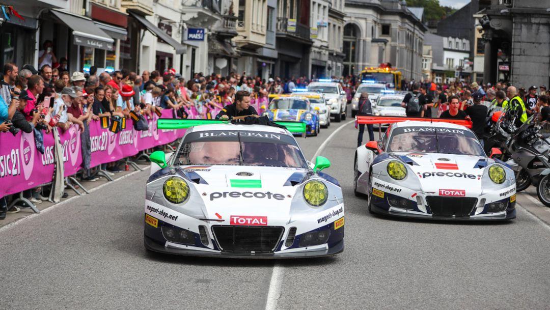 911 GT3 R (912, 911), Herberth Motorsport, 24 Stunden von Spa, 2017, Porsche AG
