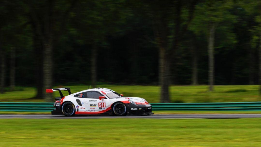 IMSA: Porsche 911 RSR startet in Virginia von der Pole-Position