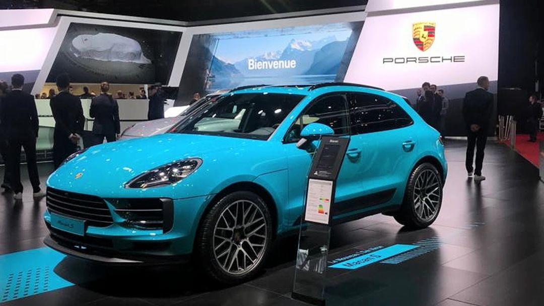 Macan S, Internationaler Automobil-Salon Genf, 2019, Porsche AG
