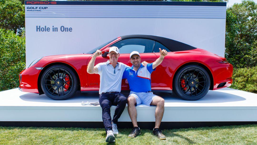 911 Carrera GTS Cabriolet, Hole-in-One Price, Porsche Golf Cup World Final, Majorca, 2017, Porsche AG