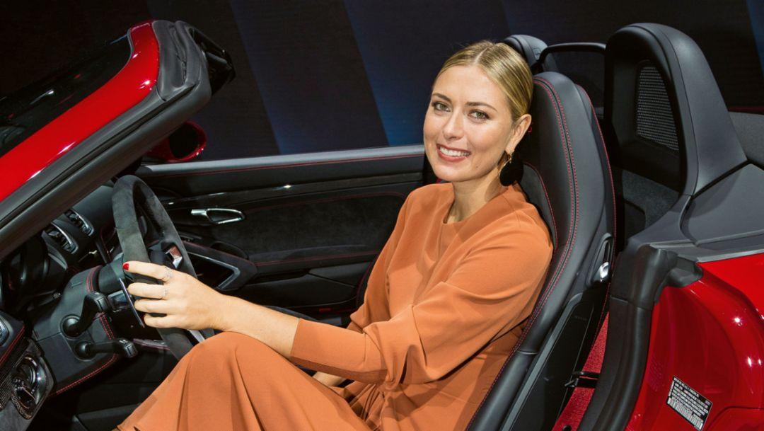 Maria Sharapova, Porsche Brand Ambassador, 718 Boster GTS, Los Angeles, 2018, Porsche AG