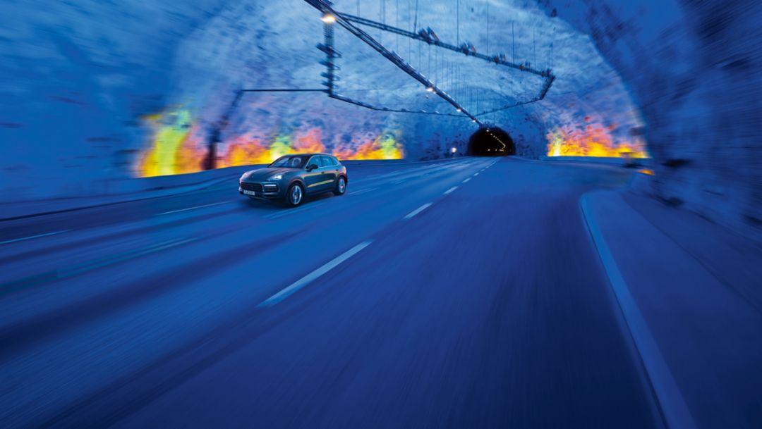 Cayenne, Norwegen, 2017, Porsche AG