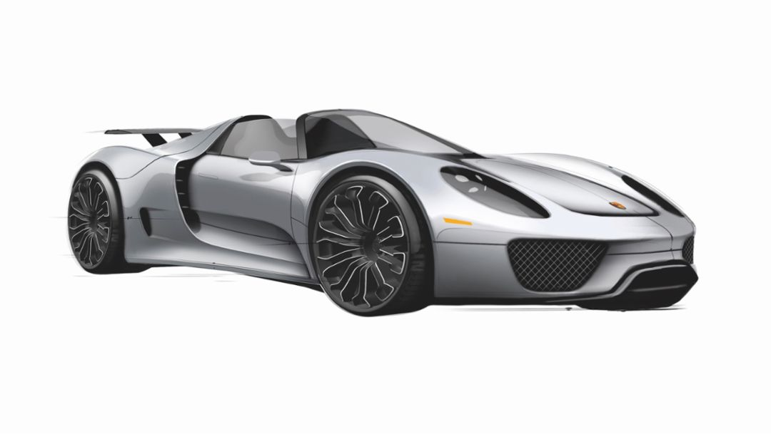918 Spyder, 2018, Porsche AG