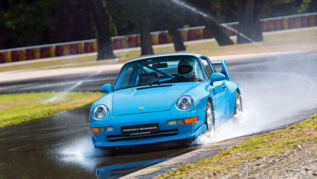 993 RS, Reifentest, Piemont, Italien, 2016, Porsche AG
