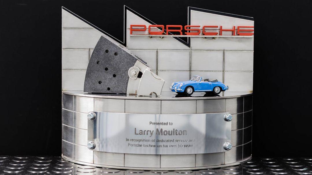 Technician Tenure Award , 2018, Porsche AG
