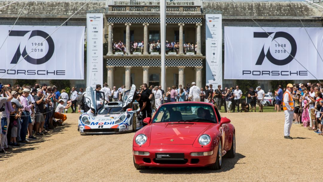 Porsche at the Goodwood Festival of Speed 2018