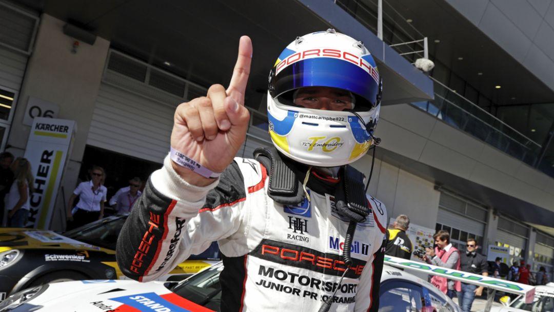 Matt Campbell (AUS), Porsche Carrera Cup Deutschland, Race 5, Spielberg 2017, Porsche AG