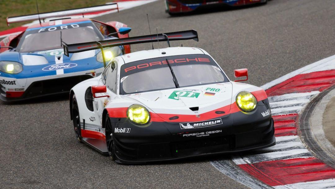 911 RSR, WEC, Shanghai, Rennen, 2017, Porsche AG