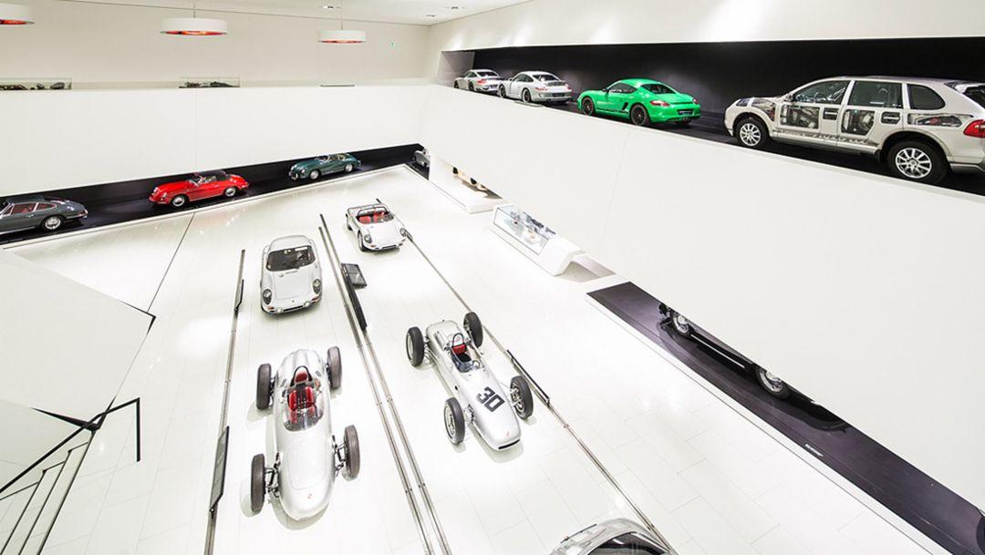 Exhibition, Porsche museum, 2014, Porsche AG