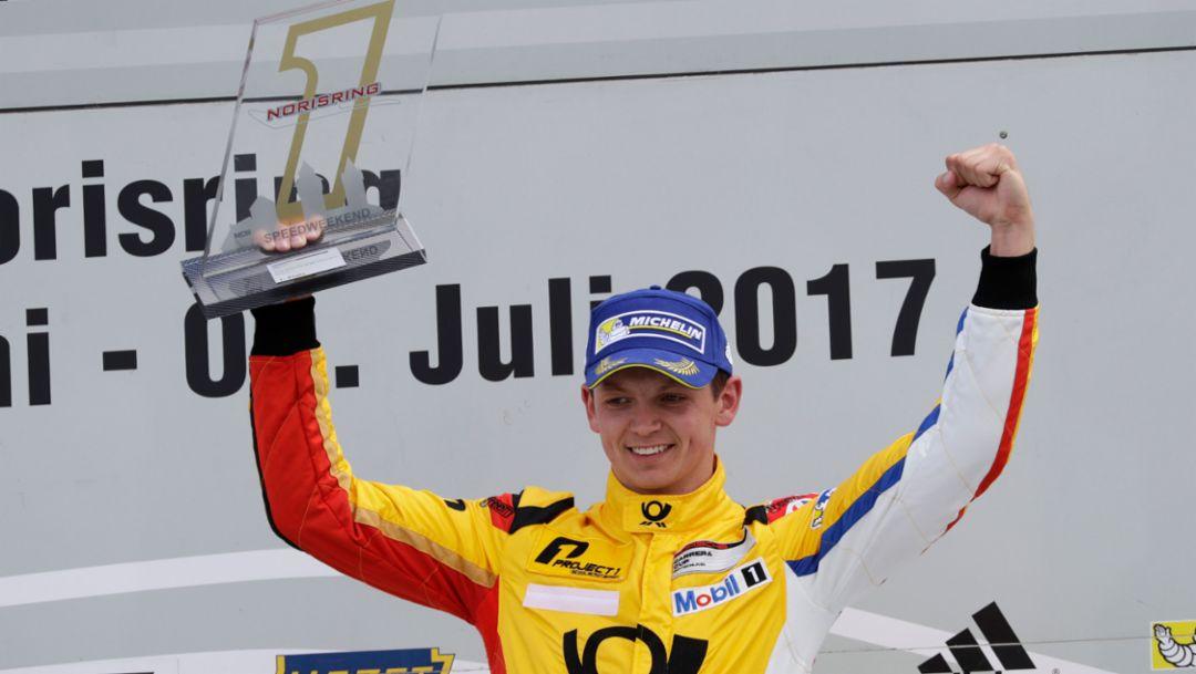 Nick Yelloly, Porsche Carrera Cup Deutschland, Race 7, Norisring 2017, Porsche AG