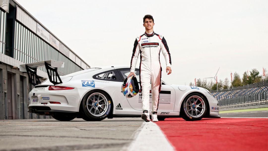 Porsche Junior Thomas Preining, 2017, Porsche AG