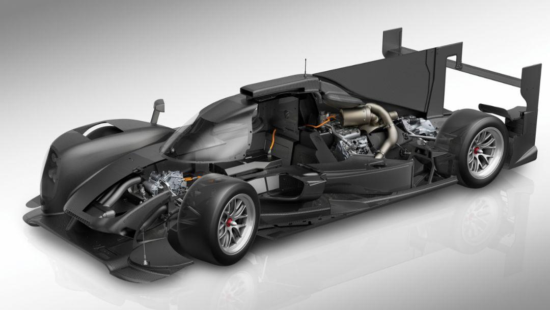 919 Hybrid, lightweight design, carbon fire, 2016, Porsche AG