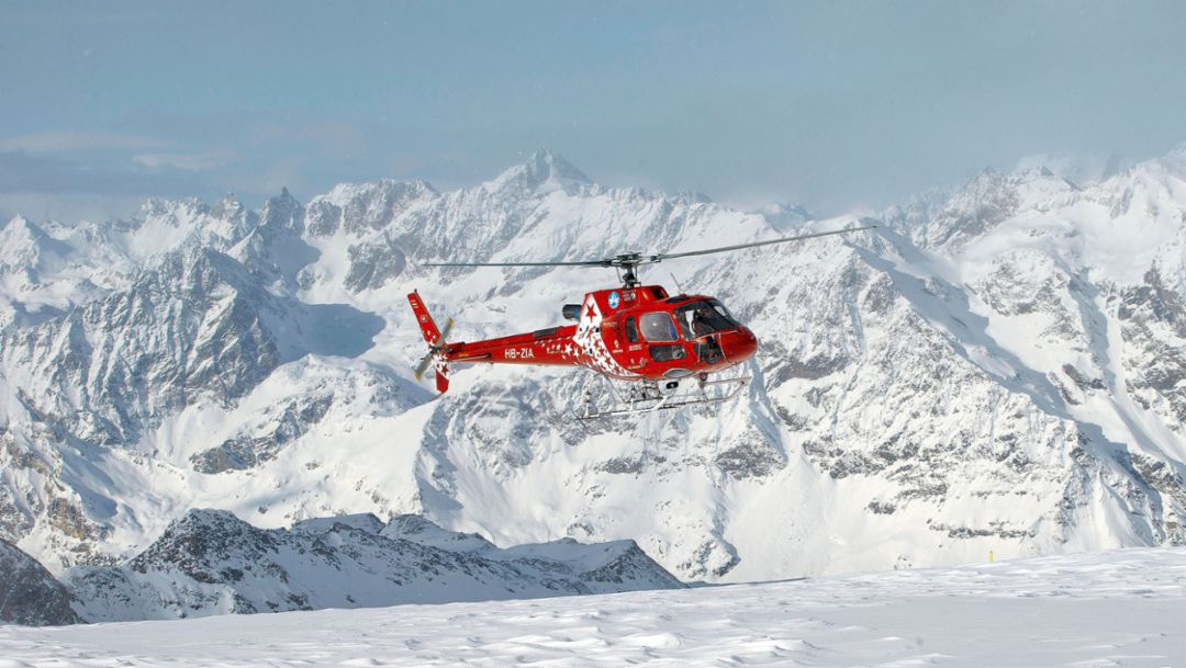 Airbus helicopter, 2016, Porsche AG
