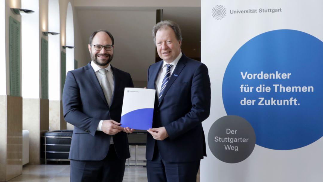 Ferry-Porsche-Stiftung fördert Professur für Unternehmensgeschichte