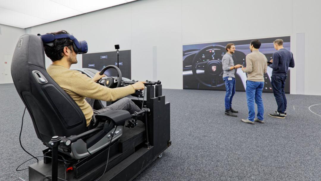 Design-Studio, 2019, Porsche AG