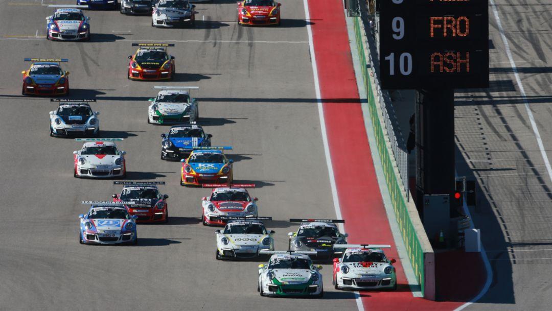 911 GT3 Cup, Porsche Mobil 1 Supercup, Austin, 2016, Porsche AG