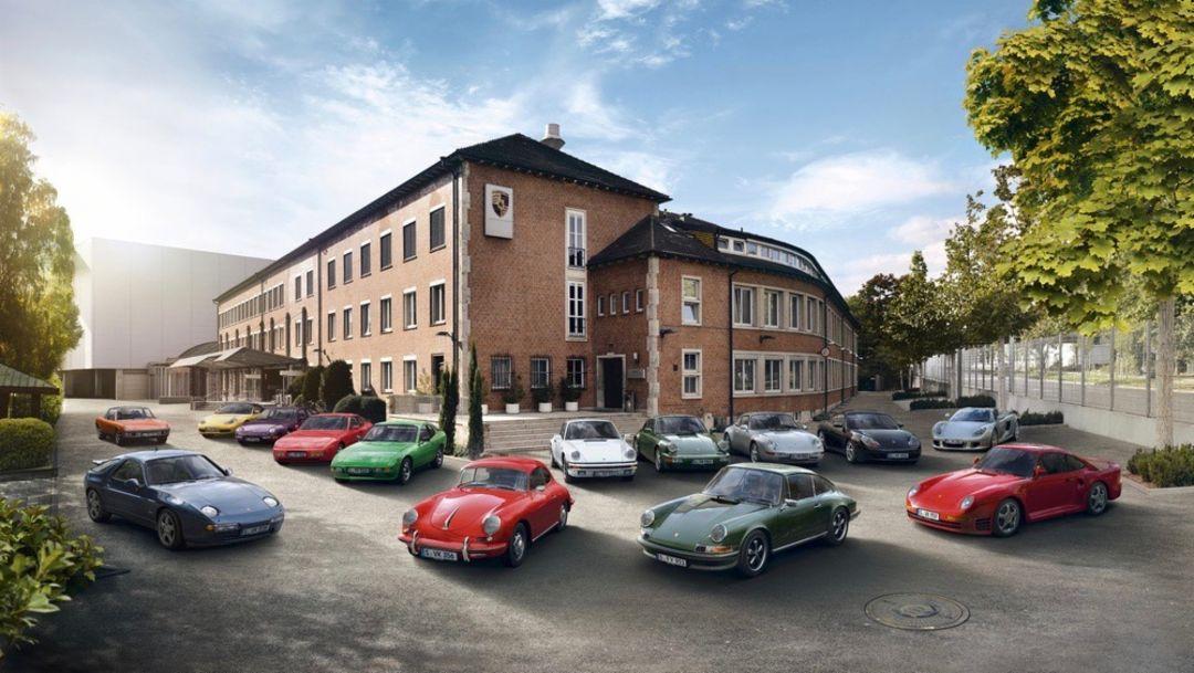 Porsche Classic Rangeshot, 2018, Porsche AG