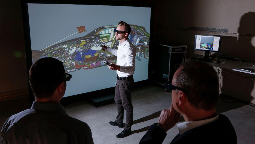 """VR programme """"Alice"""", 2018, Porsche AG"""