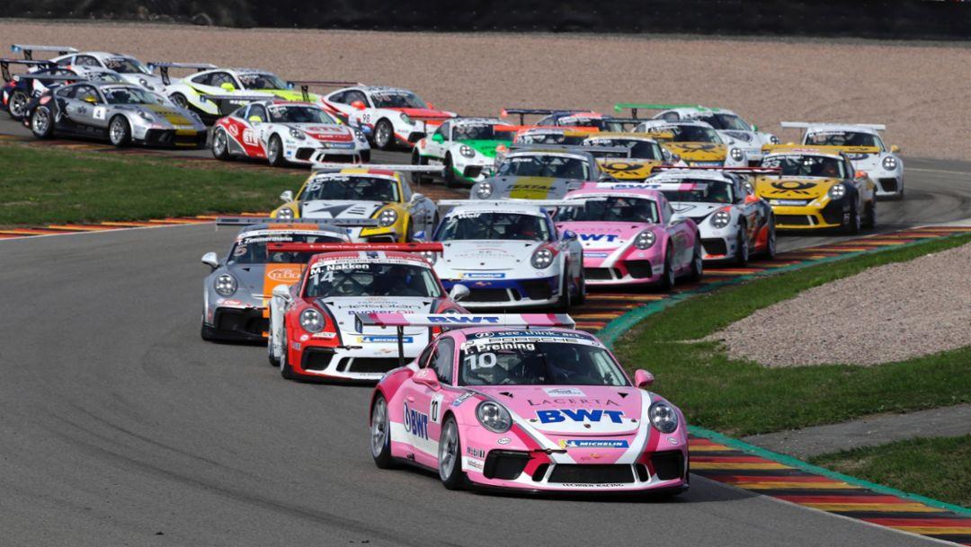 911 GT3 Cup, Porsche Carrera Cup Deutschland, race 11, Sachsenring, 2018, Porsche AG