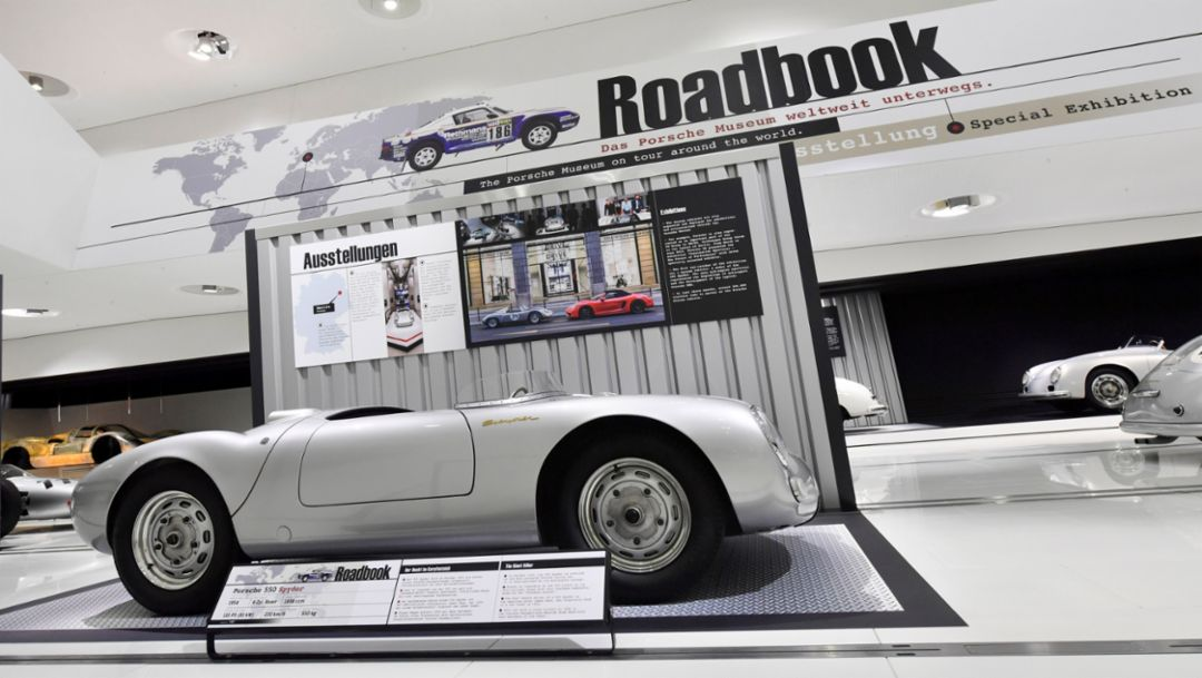 "New special exhibition ""Roadbook."""