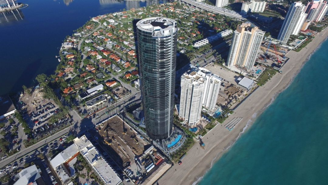 Porsche Design Tower >> First Porsche Design Tower In Miami