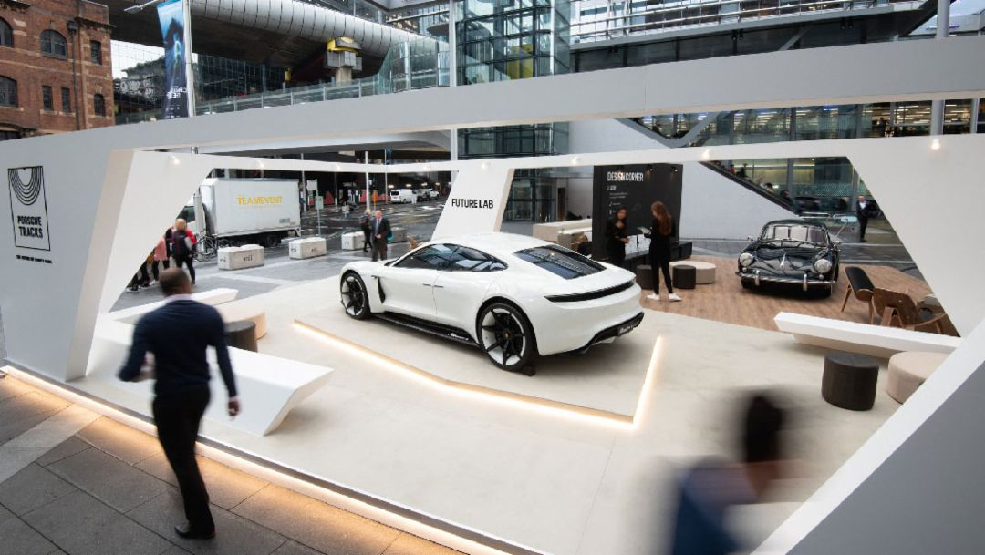 Mission E, Future Lab, Barangaroo, Sydney, 2018, Porsche AG