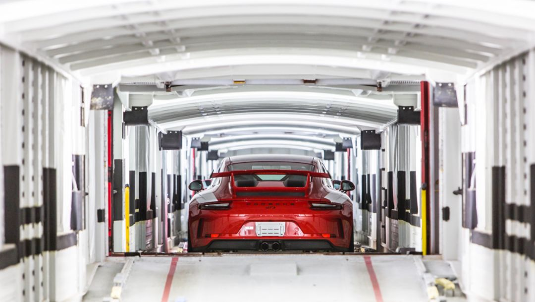 911 GT3, 2018, Porsche AG