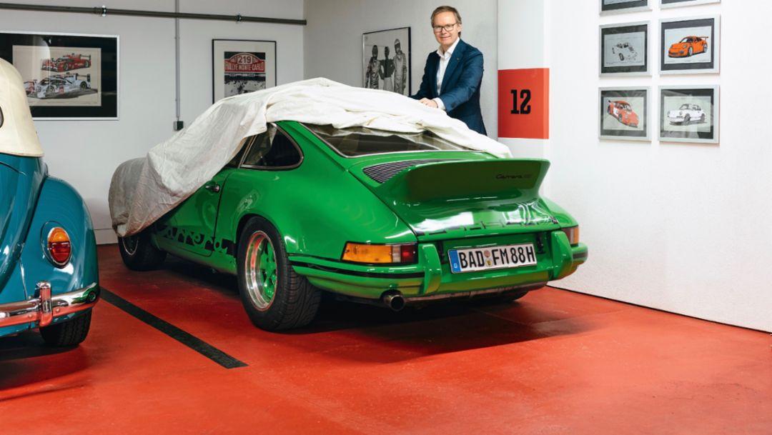 """Porsche-Enthusiast Frank Marrenbach: """"Respekt ist die universelle Geste"""""""