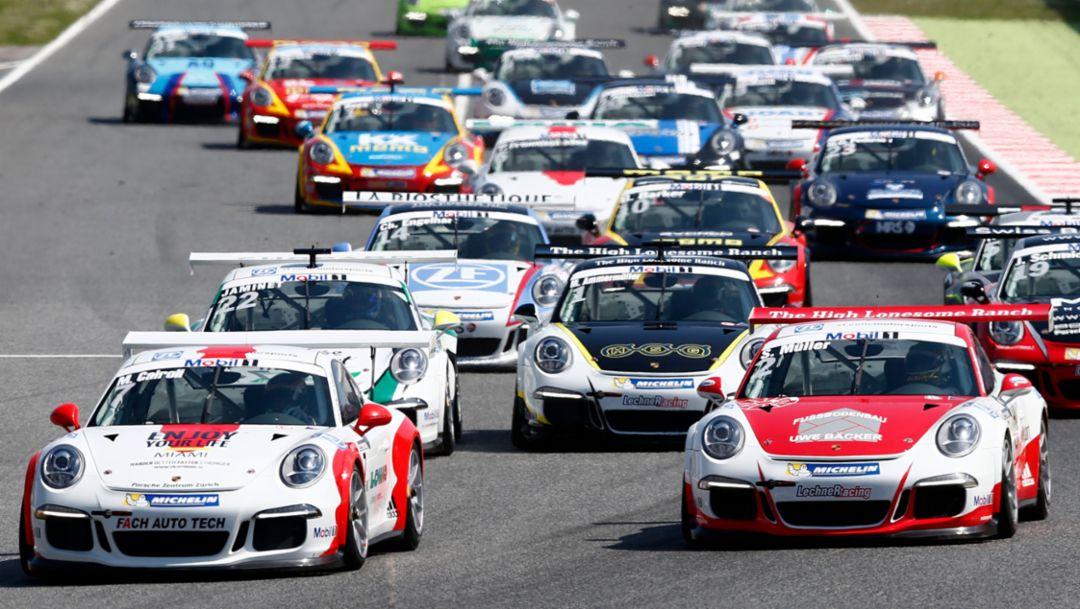 Porsche Mobil 1 Supercup, Barcelona, 2016, Porsche AG