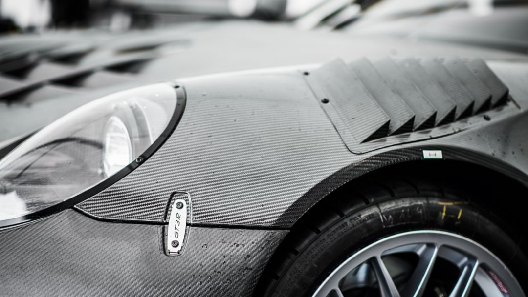 911 GT3 R, 30-hour endurance test, Sebring, North America, 2015, Porsche AG