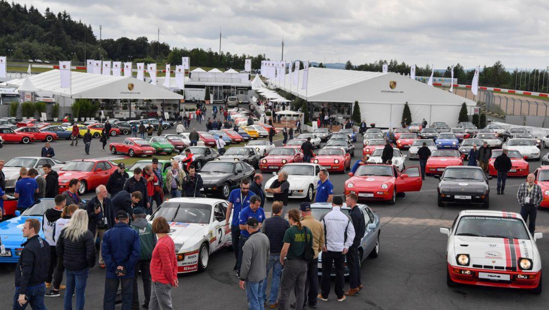 Porsche at the 44th AvD-Oldtimer-Grand-Prix