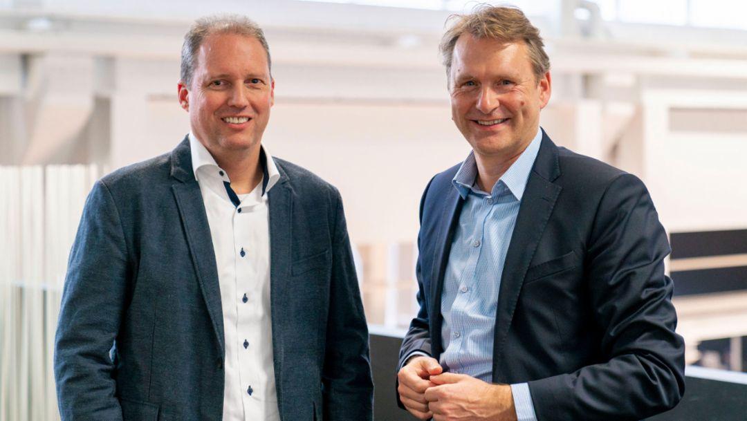 Ulbrich und Zerweck neue Geschäftsführer bei Porsche Digital