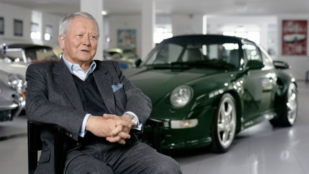 Dr Wolfgang Porsche, Chairman of the Supervisory Board, 911 Turbo S, 2018, Porsche AG