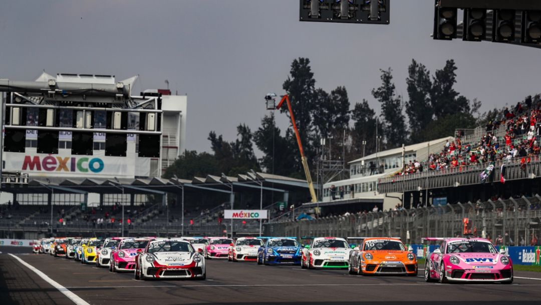 PMSC: 3827 Runden im Porsche Mobil 1 Supercup