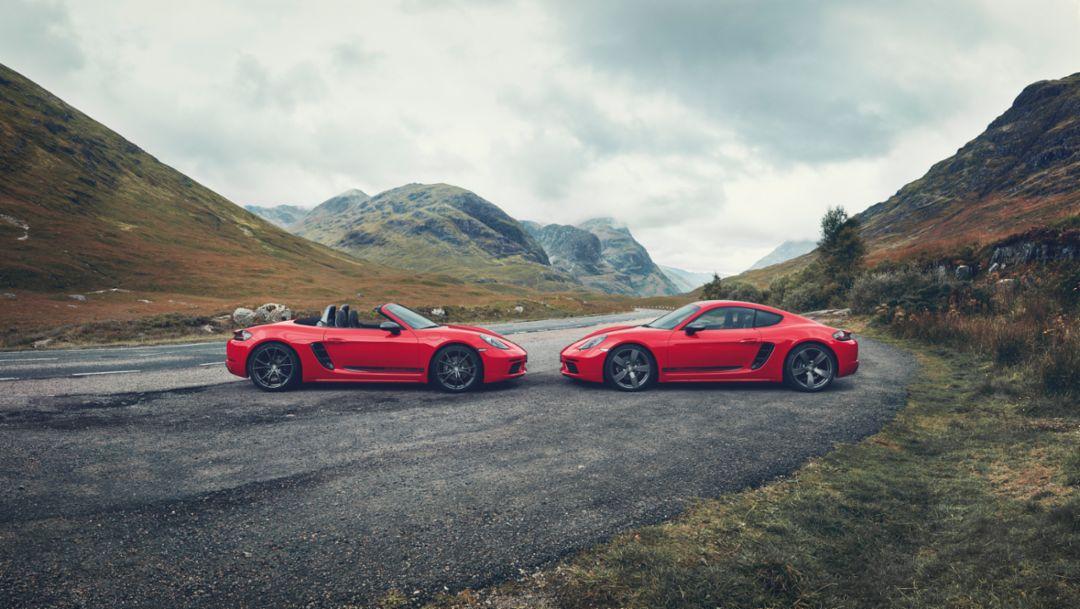 The new Porsche 718 T – maximum driving pleasure