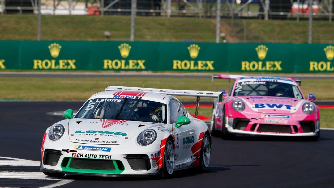 911 GT3 Cup, Porsche Mobil 1 Supercup, Qualifying, Silverstone, 2019, Porsche AG