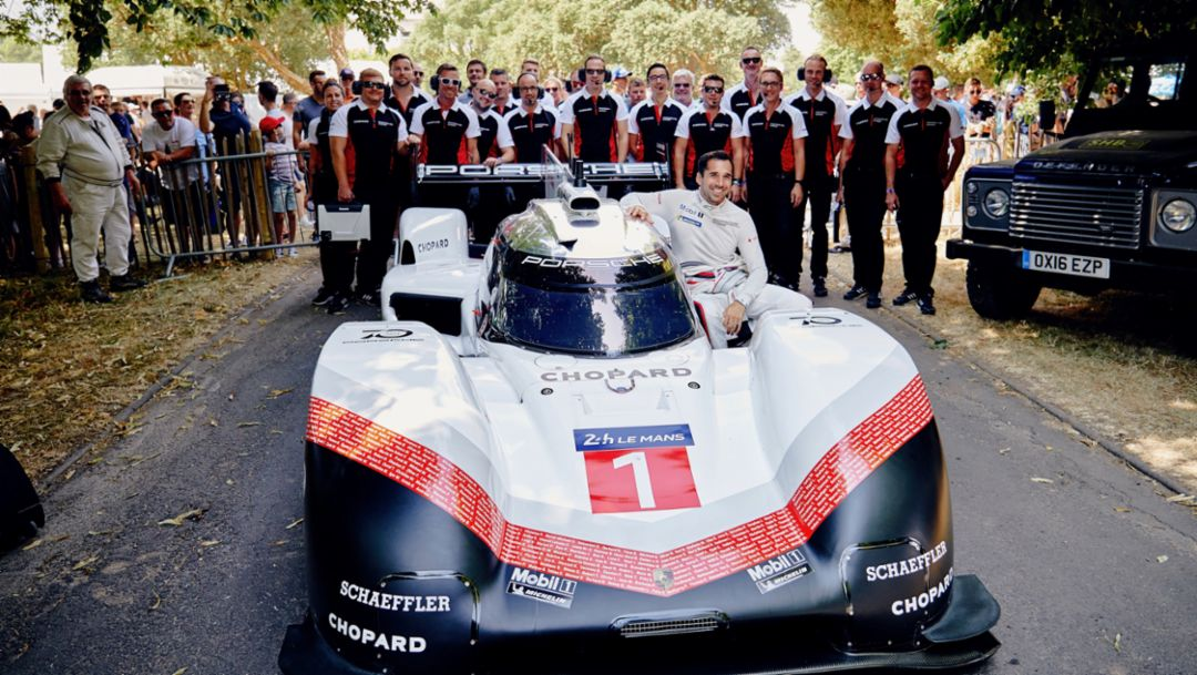 Porsche LMP Team, Porsche 919 Hybrid Evo, Goodwood Festival of Speed, 2018, Porsche AG
